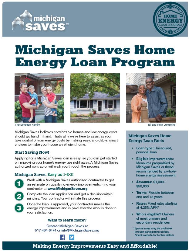 Michigan Saves Residential Financing